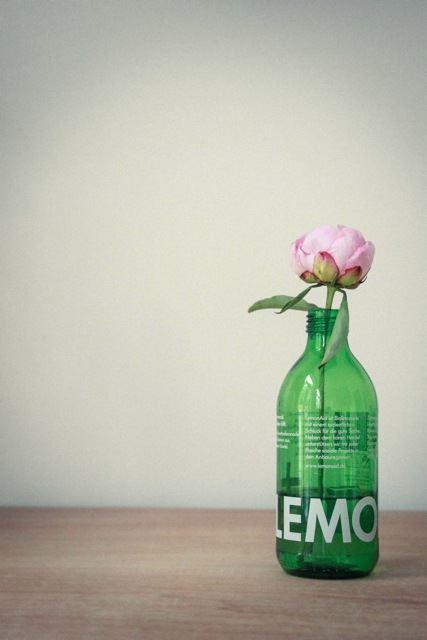Lemonaid-Upcycling-Blumenvase